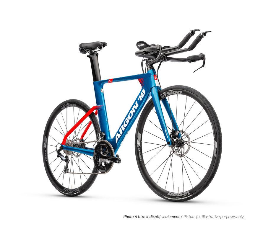 E-117 Tri Disc Kit 3 105 Mix 2020 - Vélo de route triathlon