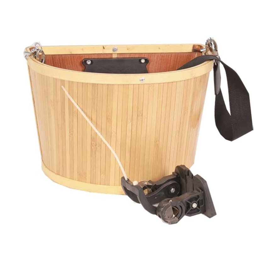 E-Cargo Bamboo QR Panier