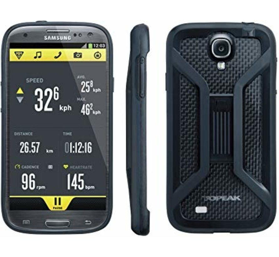 Ridecase Samsung Galaxy S4 - Support cellulaire vélo