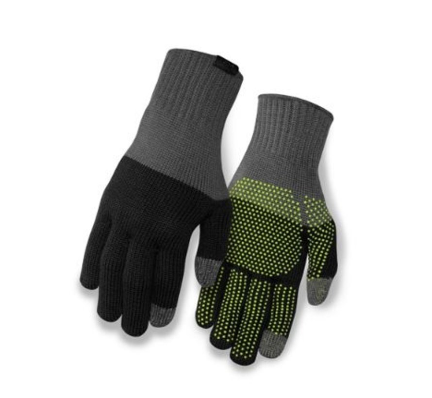 Knit Merino Whool - Gants de vélo en laine mérino