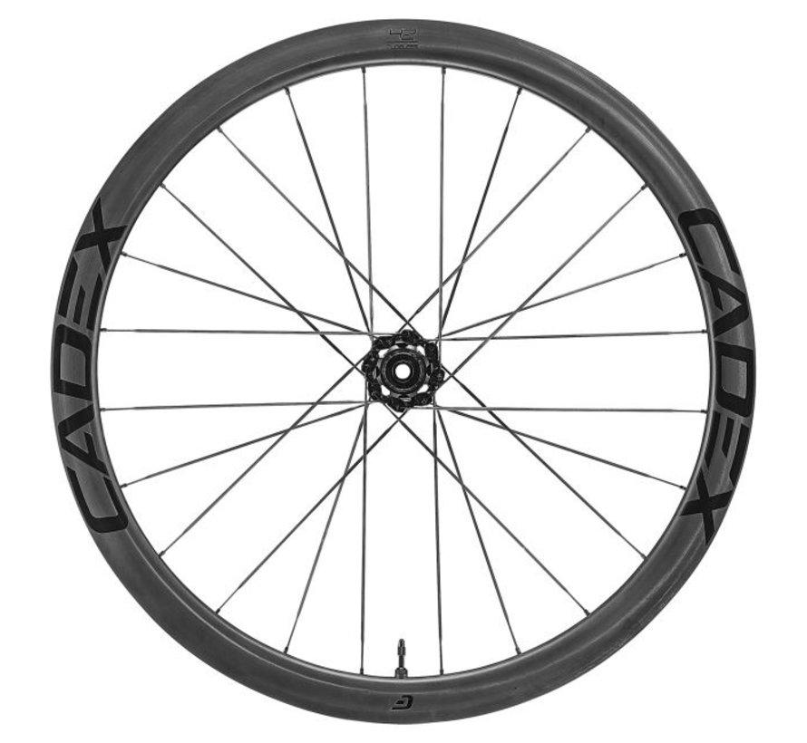 42 Disc Tubeless - Roue vélo route en carbone