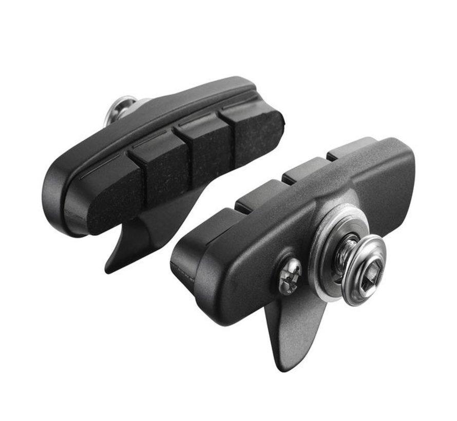 R55C4 BR-5800 Patins de frein pour vélo jante en aluminium (Paire)