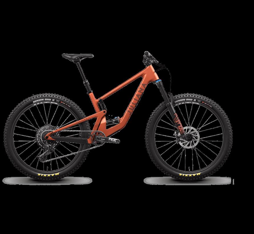 Furtado 4 C R  2021 - vélo de montagne all-mountain double suspension pour Femme