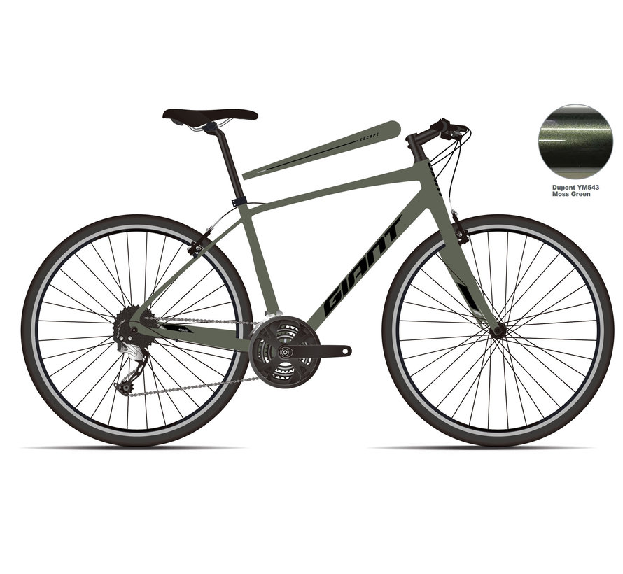 Escape 3 2021 - Vélo hybride performance