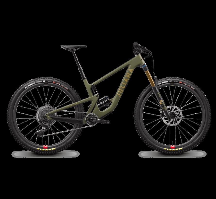 Maverick 1 CC X01 2021 - Vélo de montagne All-mountain double suspension Femme