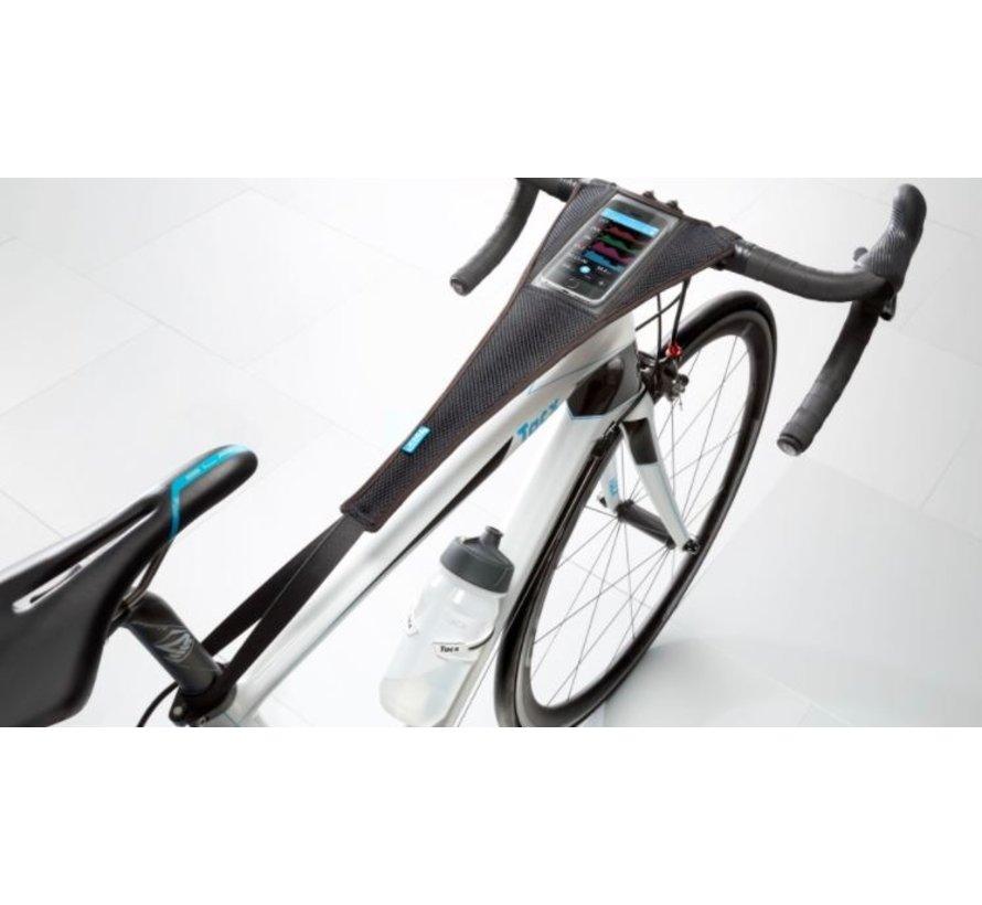 Toile avec pochette intégrée et serviette d'entrainement à vélo