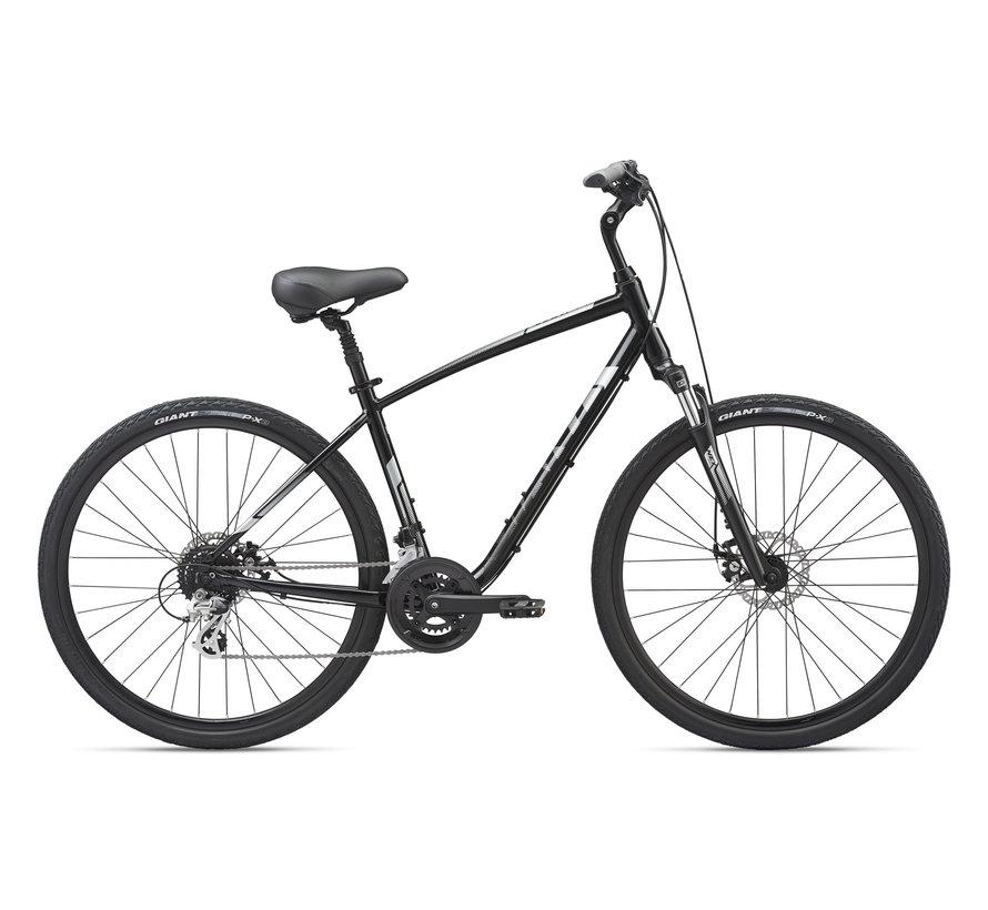 Cypress DX 2021 - Vélo hybride confort simple suspension