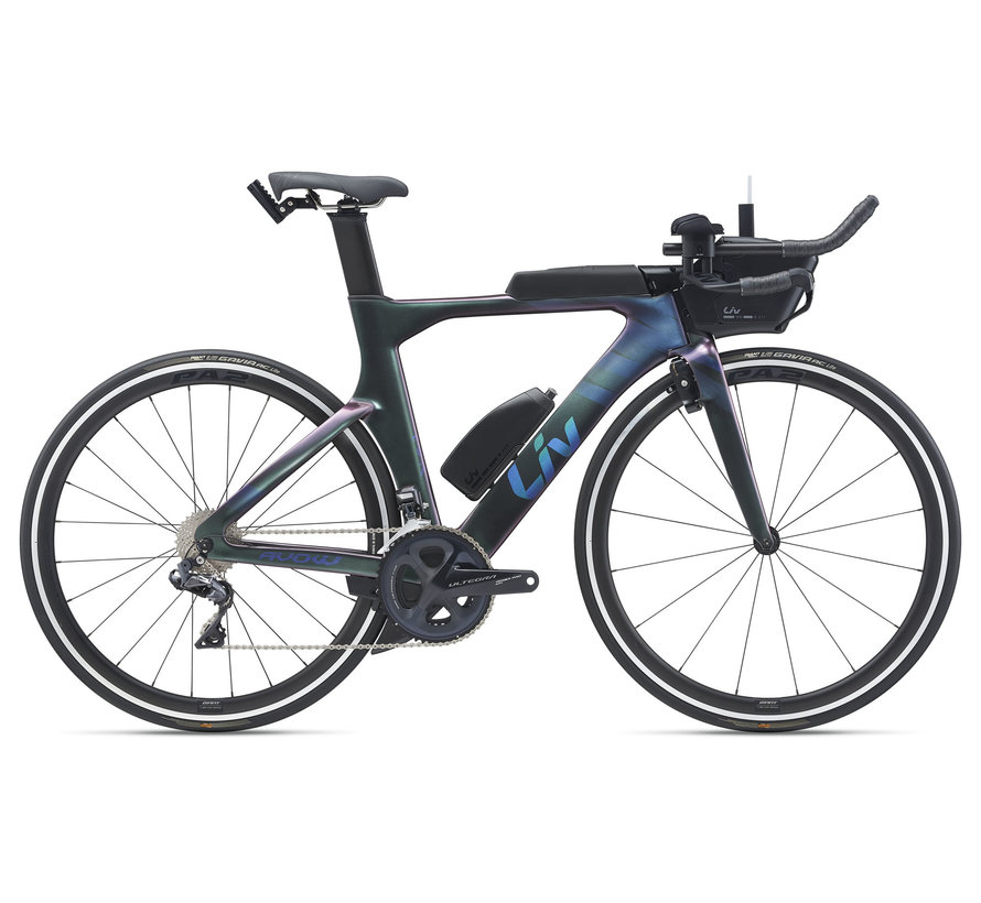 Avow Advanced Pro 1 2021 - Vélo de triathlon Femme