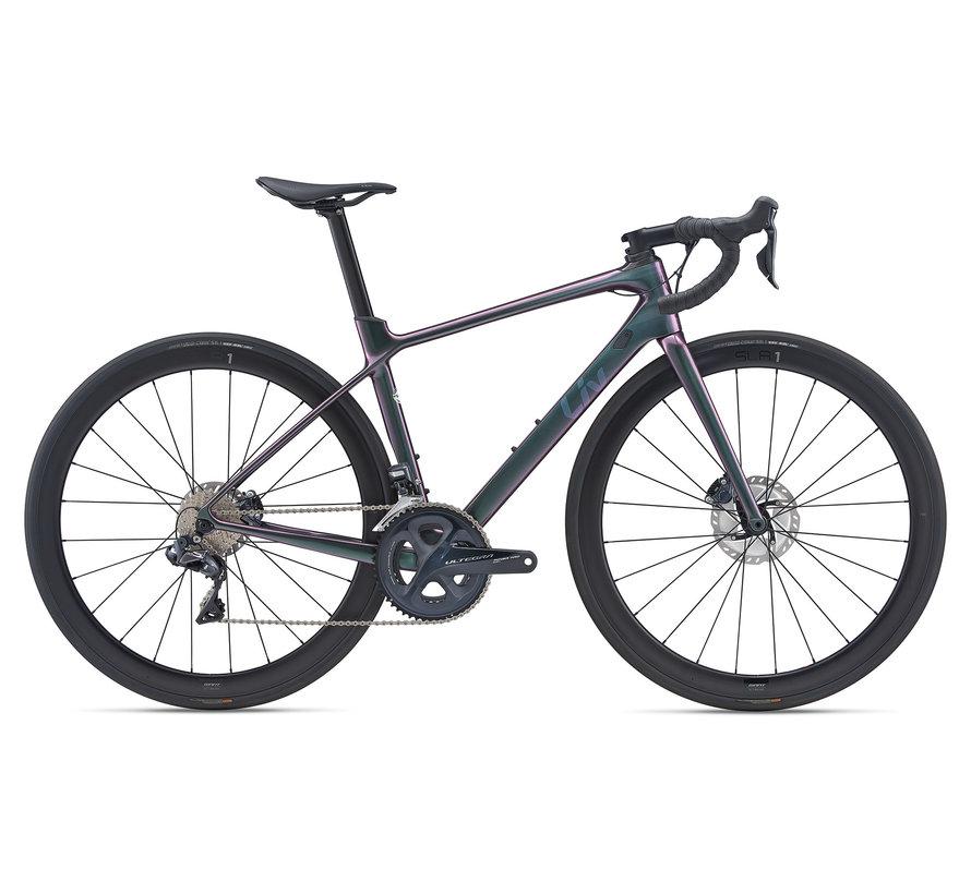 Langma Advanced Pro 0 Disc 2021 - Vélo de route performance Femme