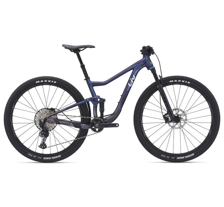 Pique 29 1 2021 - Vélo montagne cross-country XC double suspension Femme