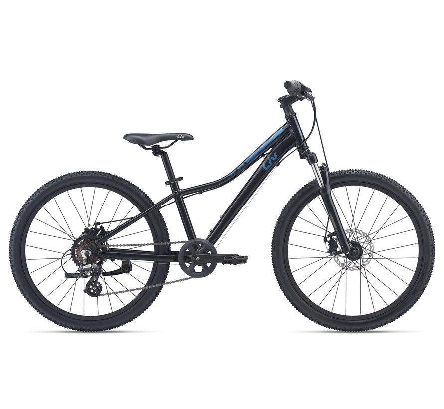 Enchant 24 Disc 2022 - Vélo montagne pour Enfant 7 à 12 ans (roues 24 pouces)