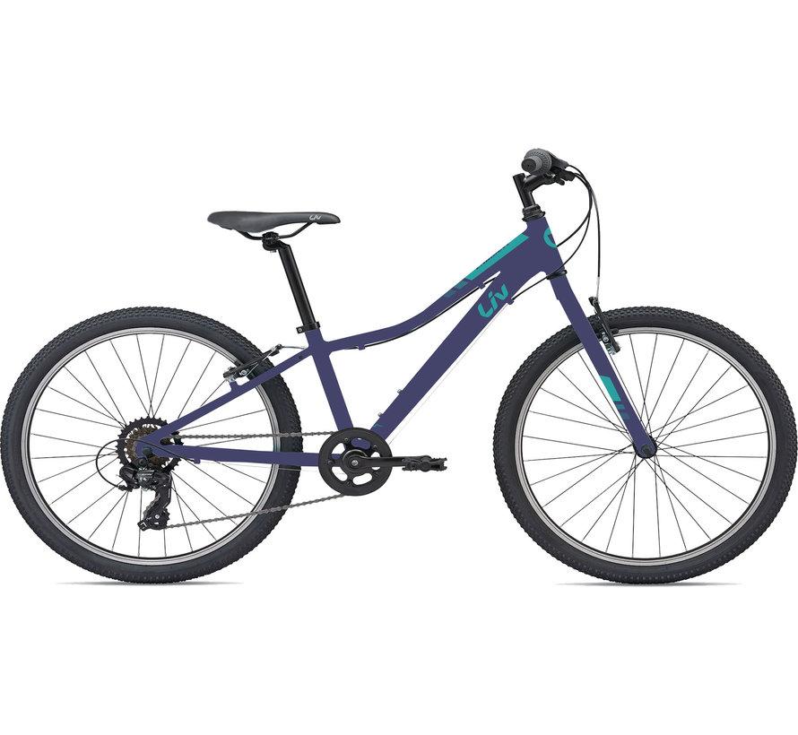 Enchant 24 Lite 2021 - Vélo montagne pour enfant de 7 à 12 ans (roues 24 pouces)