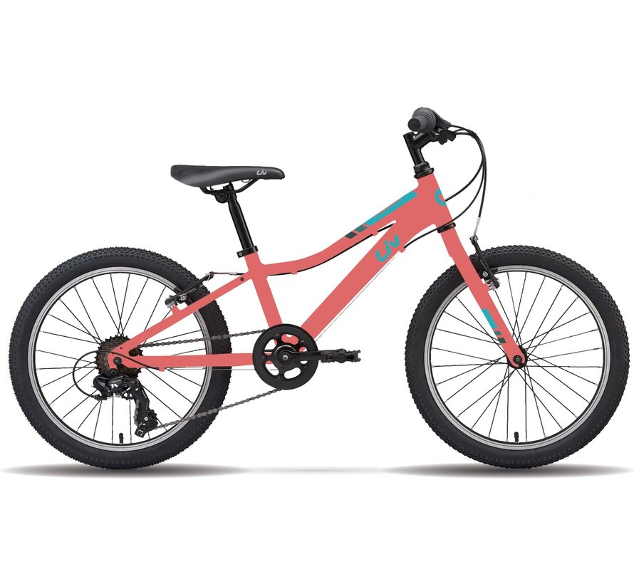 Enchant 20 Lite 2021 - Vélo montagne pour enfant 5 à 9 ans (roues 20 pouces)