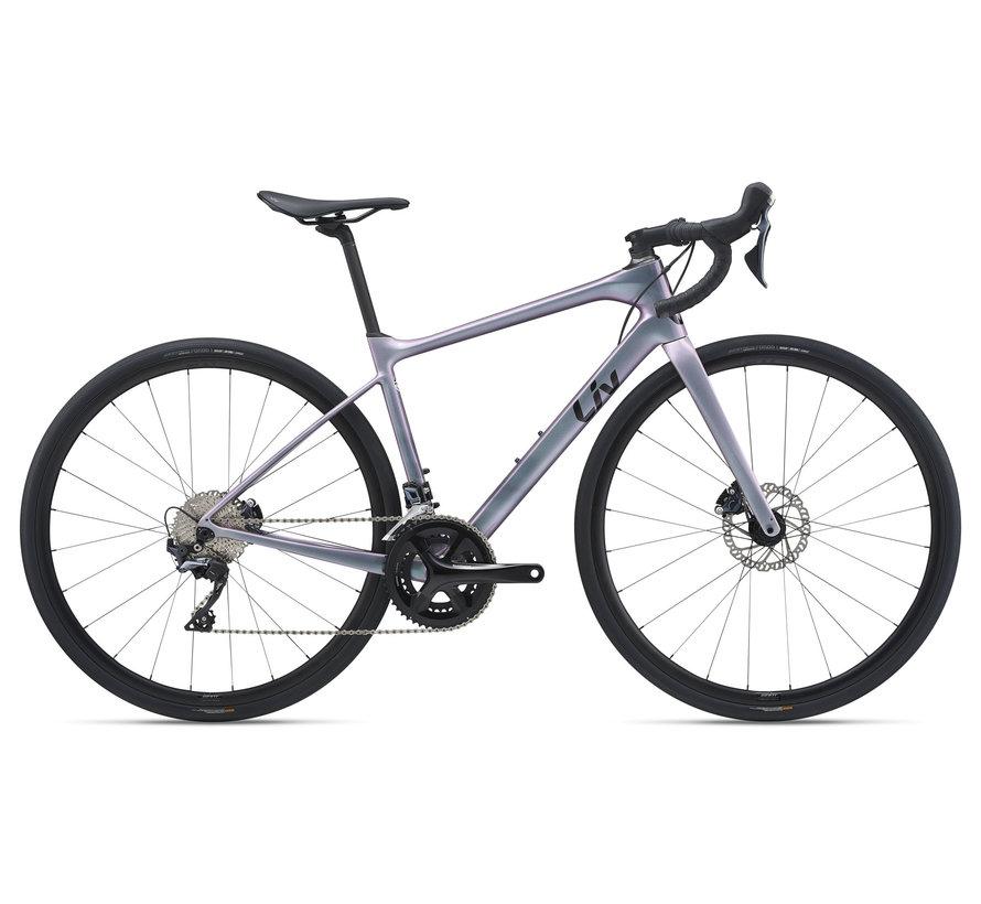Avail Advanced 1 2021 - Vélo de route endurance Femme