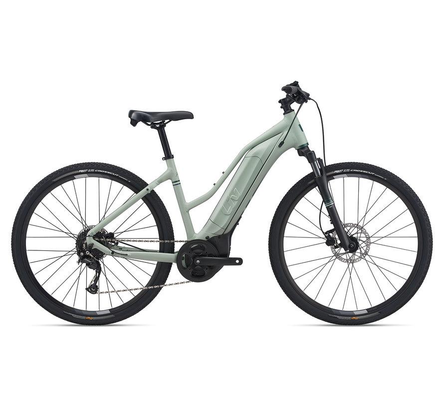 Rove E+ 2022 - Vélo hybride électrique à simple suspension pour Femme