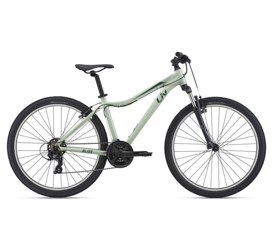 Bliss 2022 - Vélo montagne cross-country XC simple suspension Femme