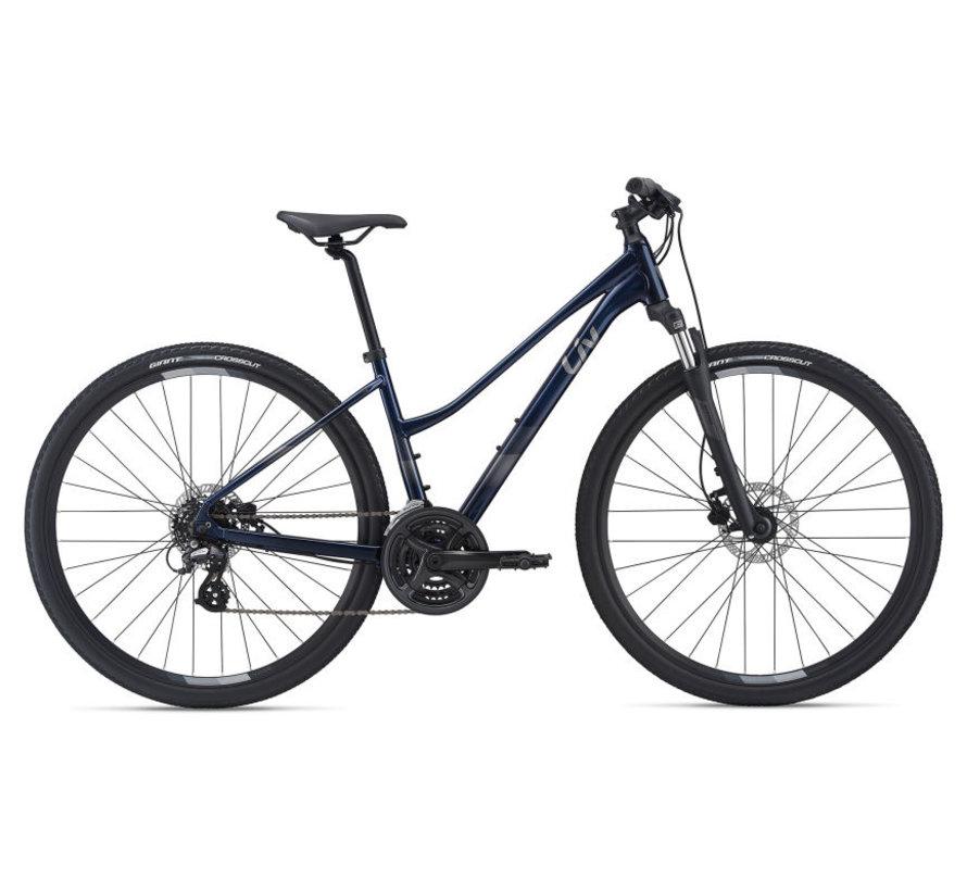 Rove 4 Disc 2021 - Vélo hybride cross simple suspension Femme