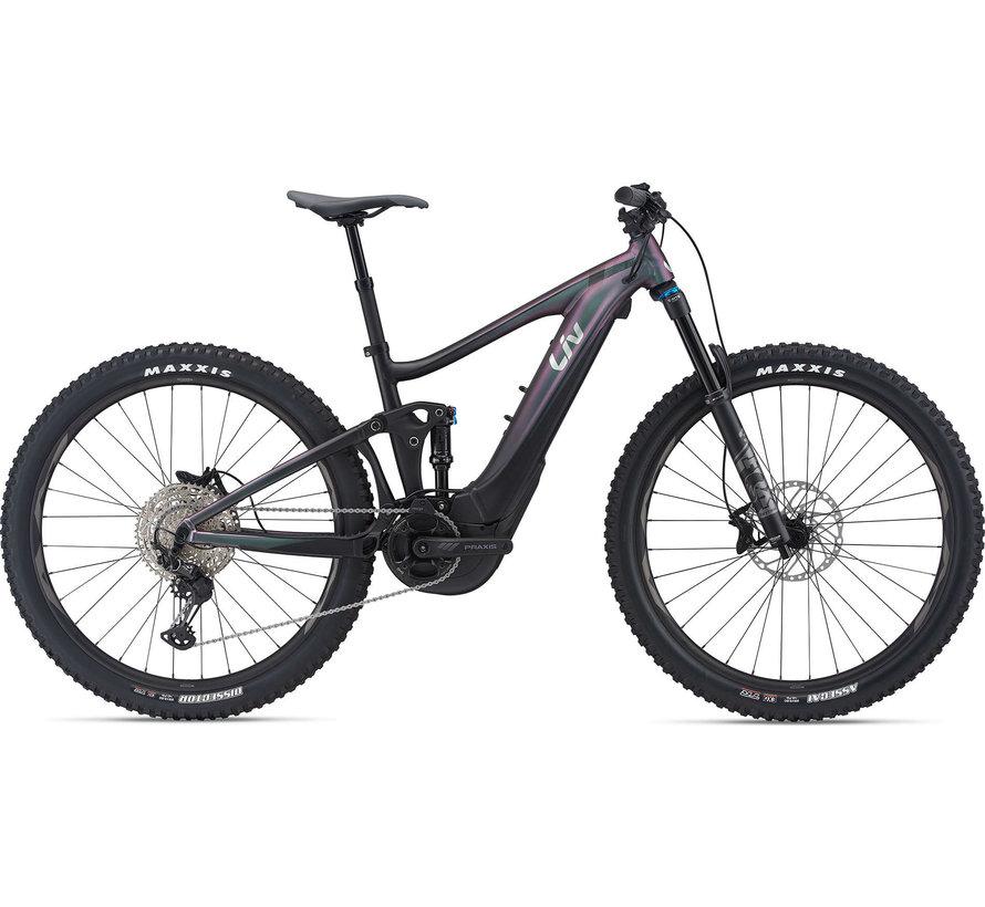 Intrigue X E+ 2 Pro 2021 - Vélo électrique de montagne All-mountain double suspension Femme