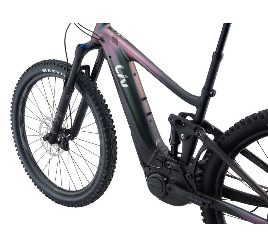 Intrigue X E+ 2 Pro 2022 - Vélo électrique de montagne All-mountain double suspension Femme