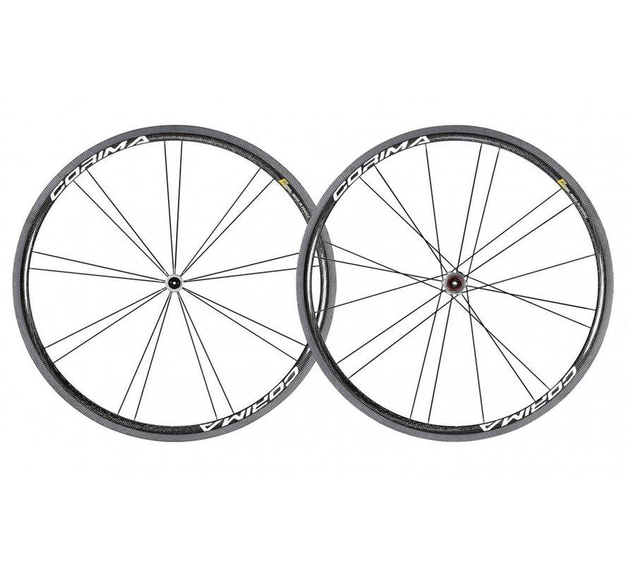 32 mm WS+ Paire de roue vélo de route (Clincher)