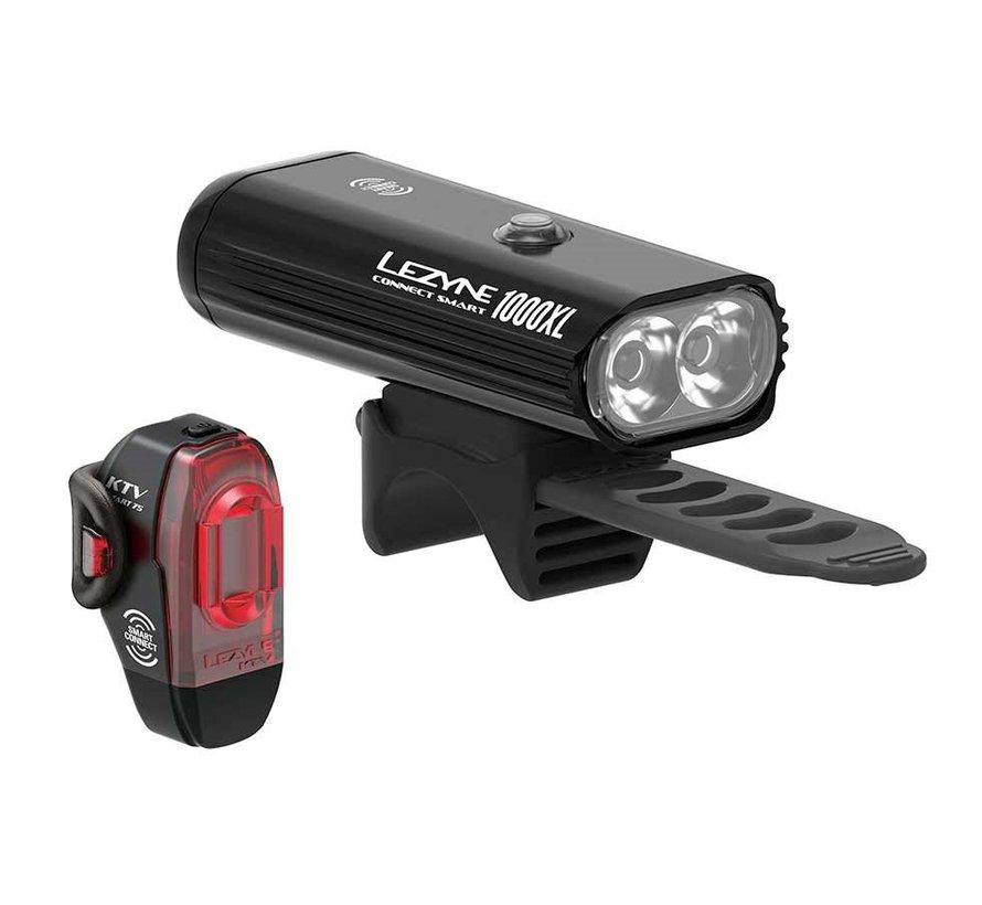 Lumière vélo Connect Smart 1000XL/KTV Pro Smart (avant et arrière)