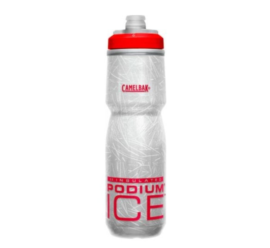 Podium Ice - Bidon vélo isolé 21 oz en plastique