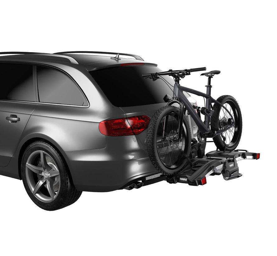 Porte-vélos Easyfold XT sur attache remorque (E-bike, Fat bike)
