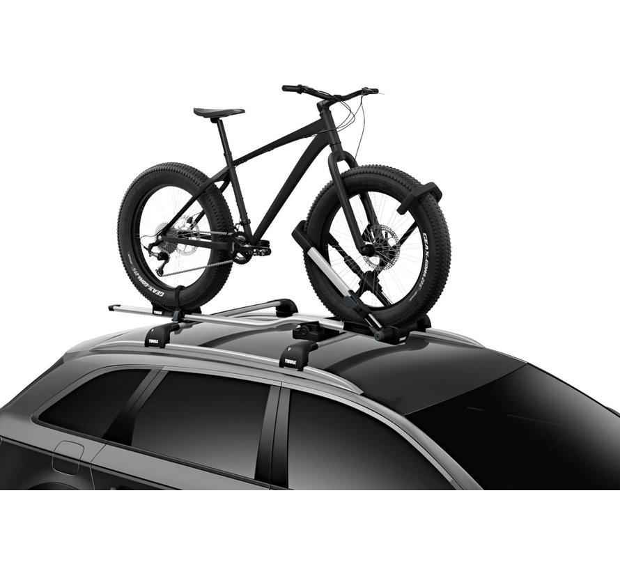 Support de roues fat bike pour porte-vélo UpRide