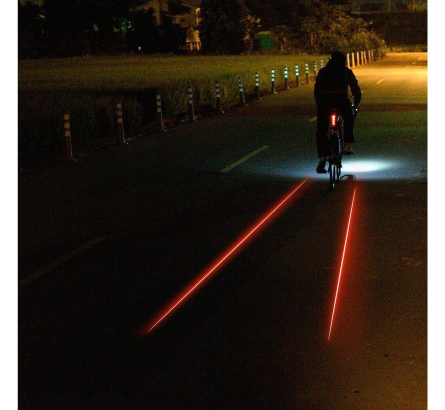 Lumière vélo LED Laser Drive (arrière)