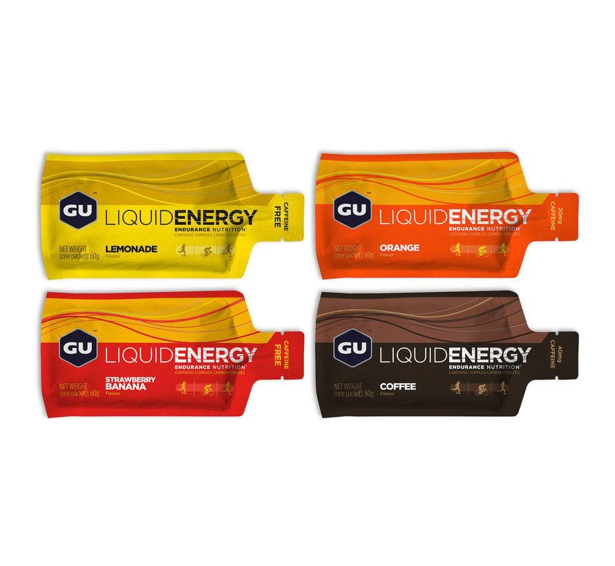 Gel liquide énergétique