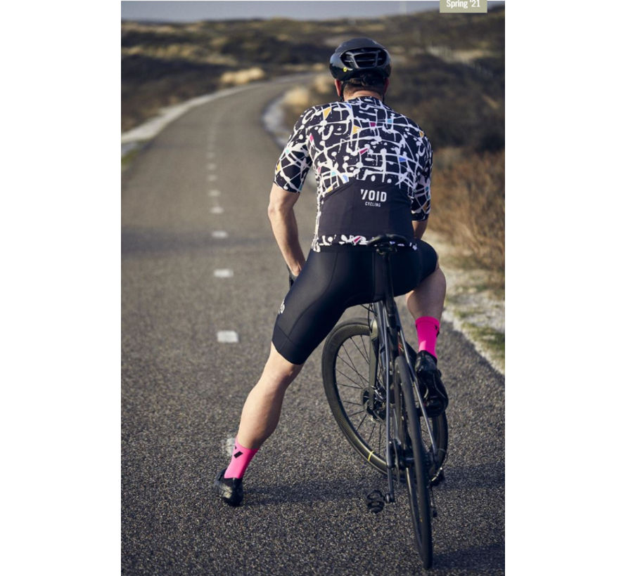 Abstract - Maillot vélo Homme