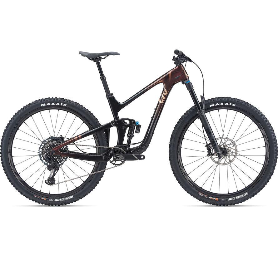 Intrigue Advanced Pro 29 1 2021 - Vélo montagne All-mountain double suspension Femme