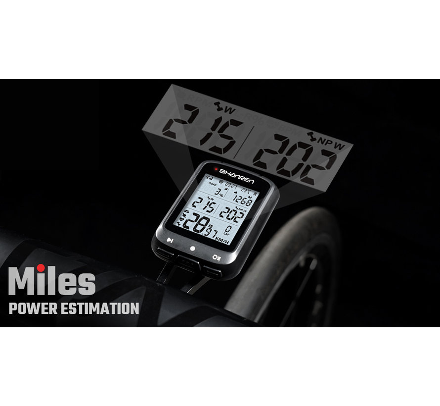Ordinateur vélo GPS Miles