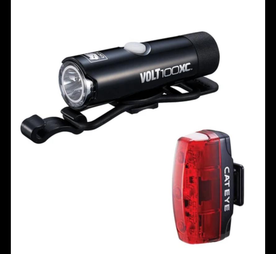 Lumières vélo Volt 100XC / Rapid Micro (avant et arrière)