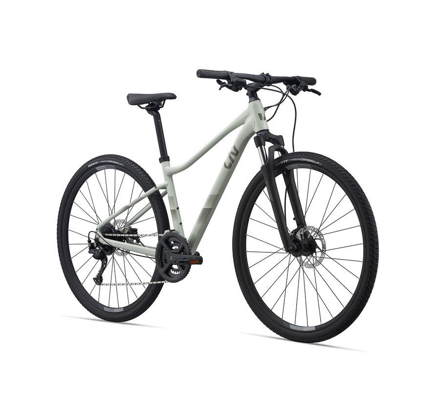 Rove 2 DD 2022 - Vélo hybride cross simple suspension Femme