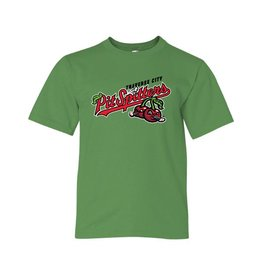 Youth Primary Logo Green Apple Tee