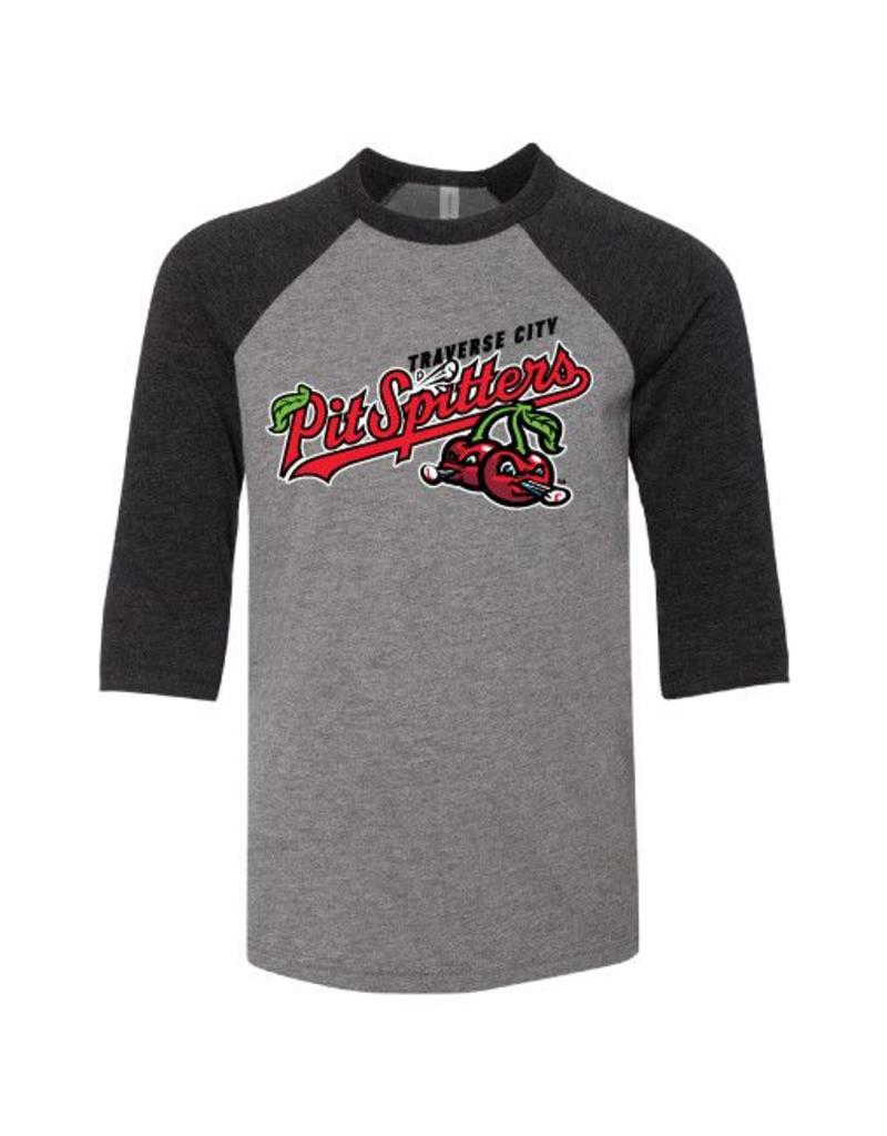 2810 Youth Primary Logo Triblend Baseball Tee