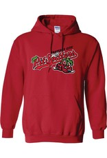 3001 Primary Logo Red Hoodie