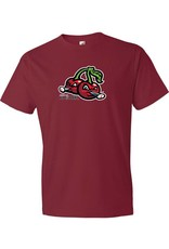 2020 Cherries Logo Dark Red Tee