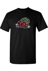 2021 Cherries Logo Black Tee CLEARANCE