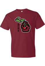2030 Michigan Logo Dark Red Tee