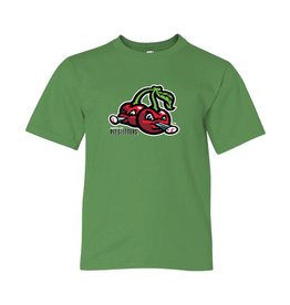 Youth Cherries Logo Green Tee