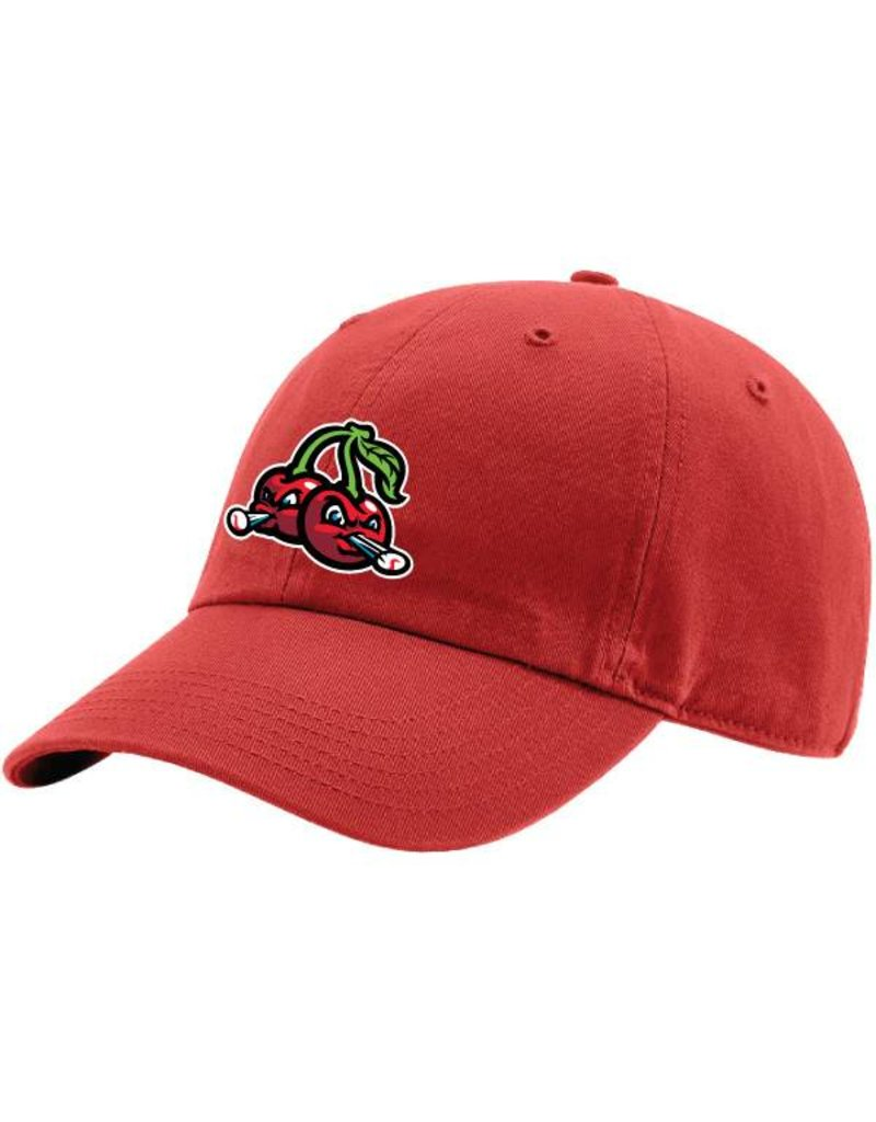 1600 Youth Red Washed Unstructured Cherries Cap