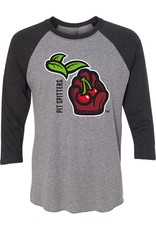 2032 Michigan Logo Triblend Baseball Tee