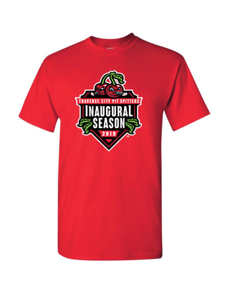 2040 Inaugural Season Red Tee