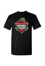 2042 Inaugural Season Black Tee CLEARANCE
