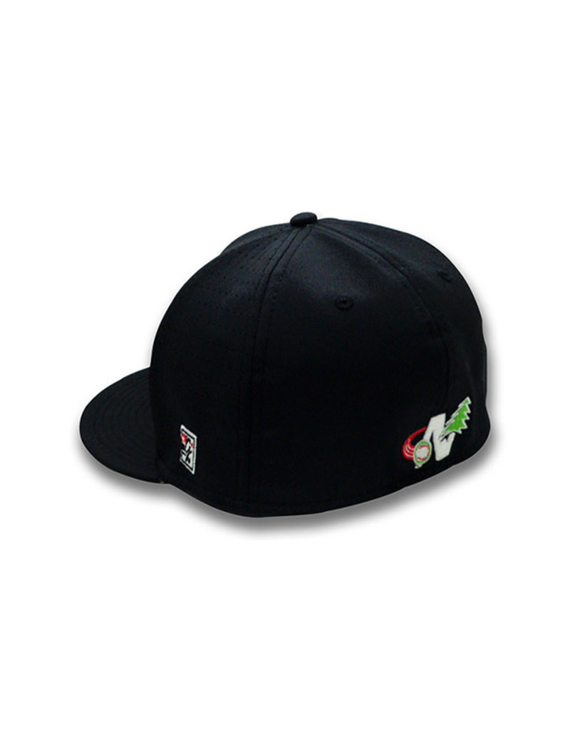 The Game 1100 On-Field Black Home Cap