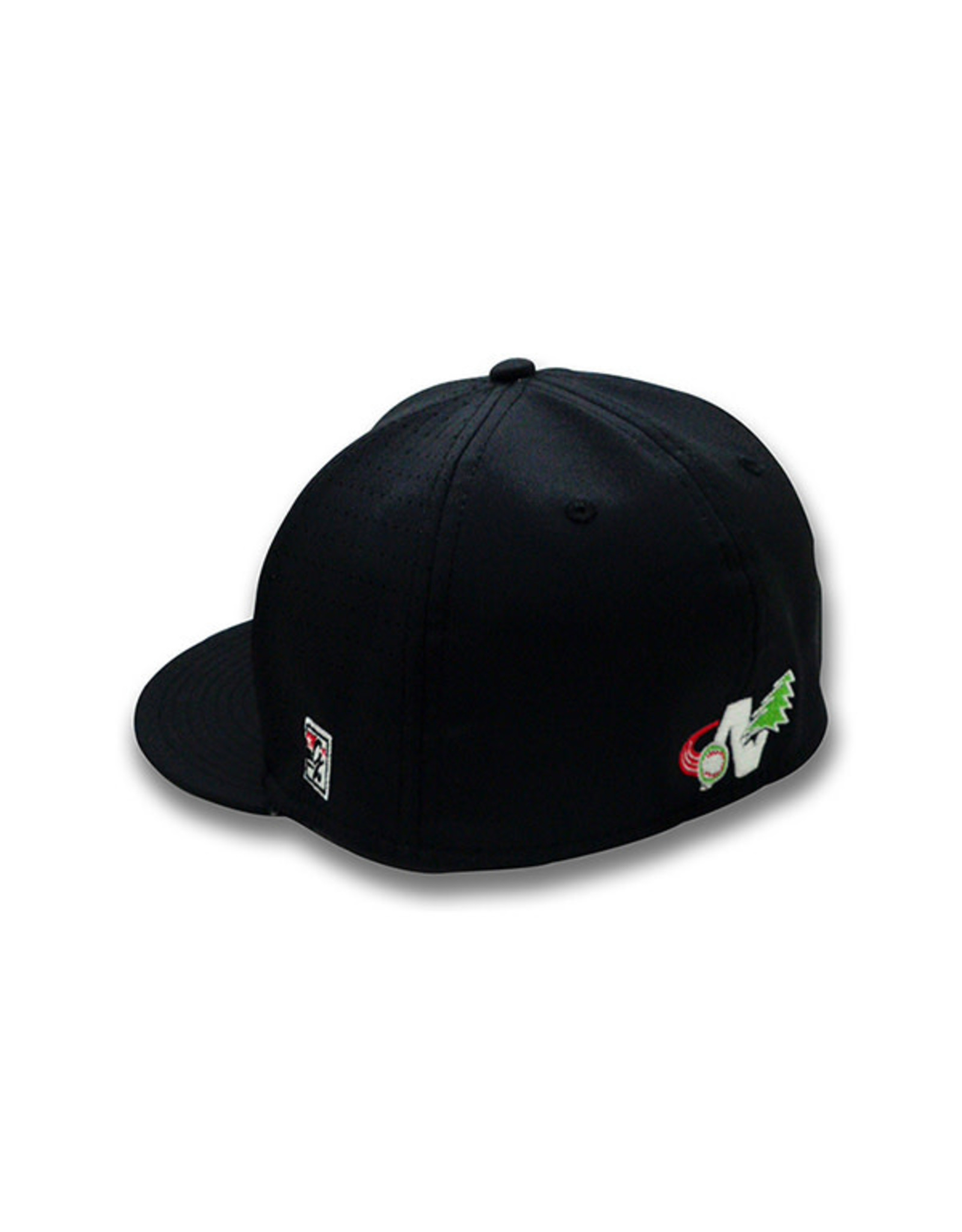 The Game 1500 Youth On-Field Black Home Cap