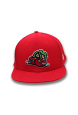 The Game 1510 Youth On-Field Red Road Cap