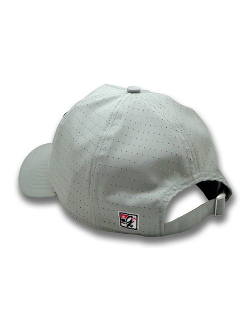 The Game 1235 Game Changer Relaxed Perf Grey Cap